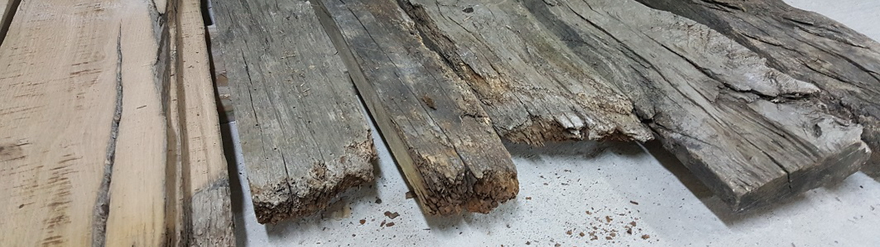 old plank panels